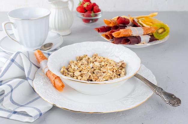 Domowe muesli na zdrowe śniadanie
