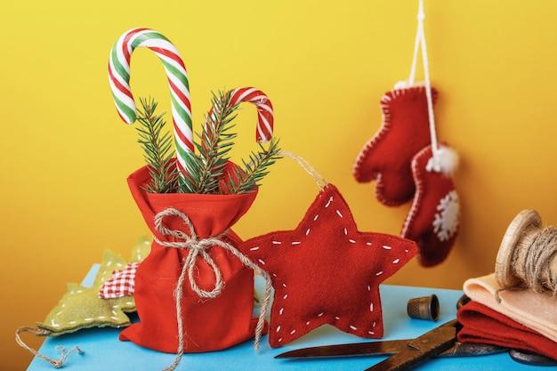 Domowe ozdoby świąteczne i prezenty