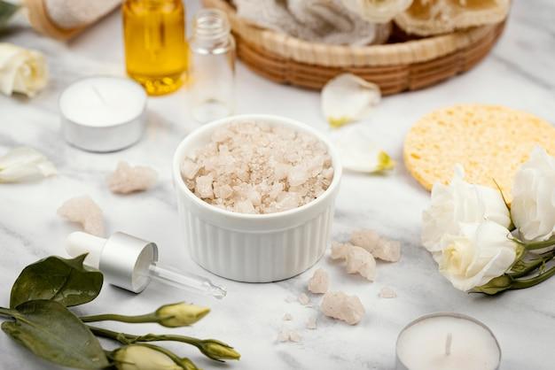 Domowe składniki do leczenia pod wysokim kątem