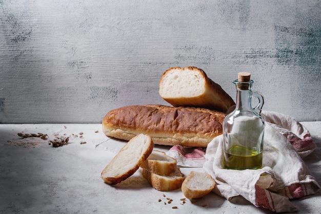 Domowej roboty biały pszeniczny chleb