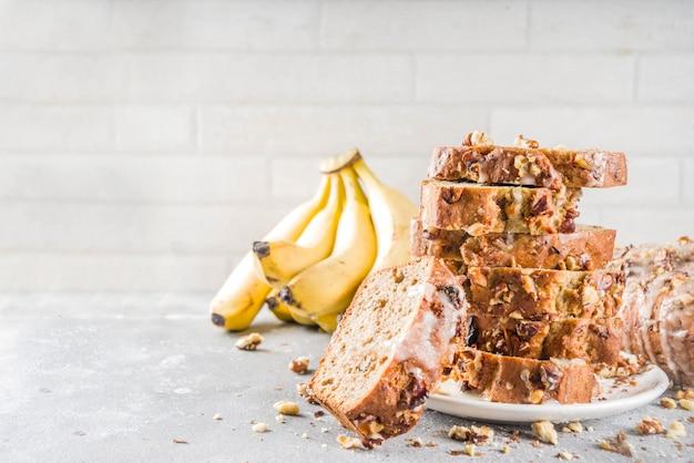 Domowy chleb bananowy