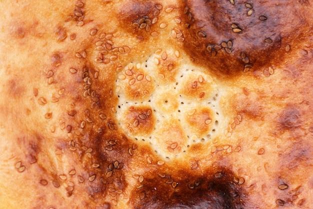 Domowy chleb pszenny pieczony