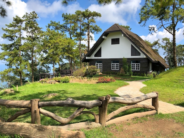 Domowy huai nam dang park narodowy, chiang mai, tajlandia