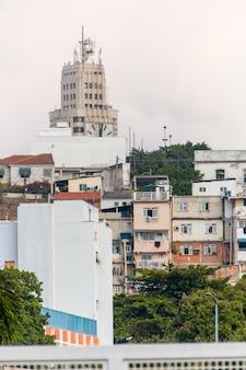 Domy conceicao hill w centrum rio de janeiro brazylia.