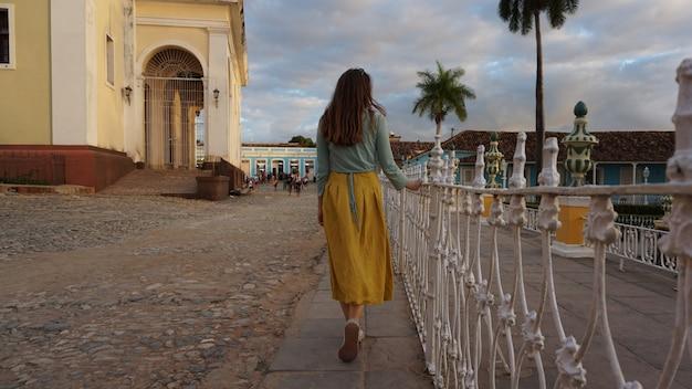 Domy na starym mieście, trynidad, kuba