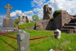 Donegal cmentarz pomnik hdr