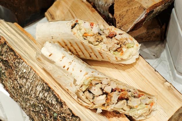 Doner kebab w logu