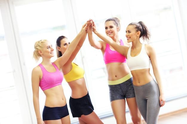 Doping grupy żeńskiej po treningu