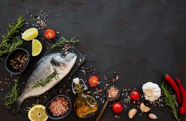 Dorado ze świeżych ryb