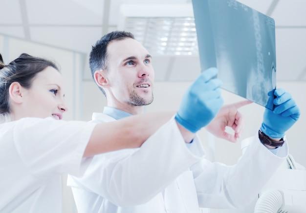 Doradztwo w zakresie rentgenowskich obrazów rentgenowskich