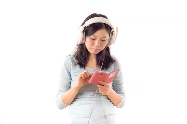 Dorywczo dźwięk muzyki telefon komórkowy