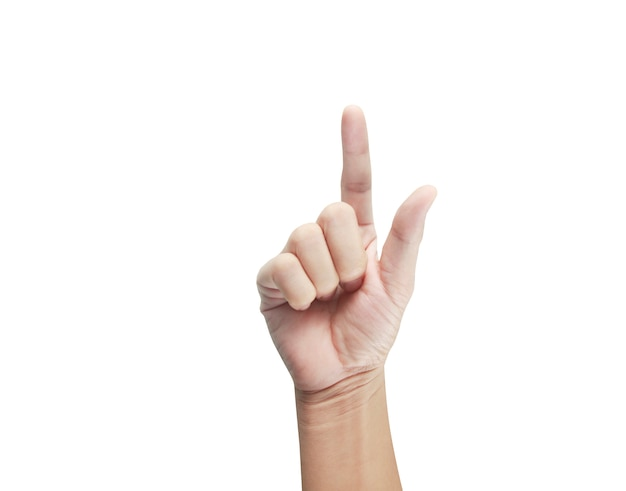 Dotykania dłoni, zbliżenie dłoni wskazując