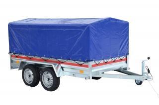 Doubleaxle trailer