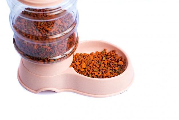 Dozownik karmy dla zwierząt domowych podajnik posiłków lub dozownik karmy dla zwierząt domowych