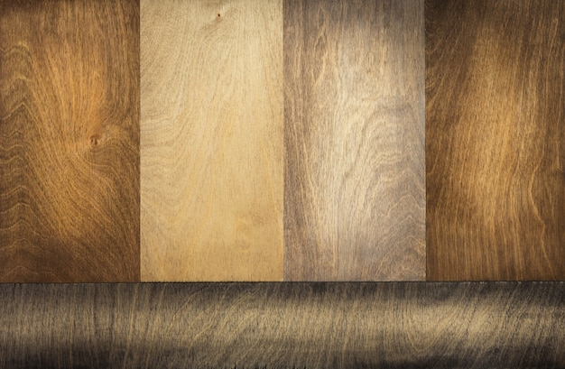 Drewniana powierzchnia jako tekstura tła