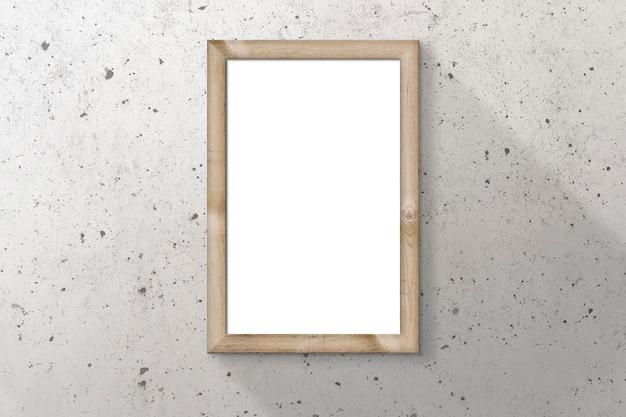 Drewniana ramka na plakat