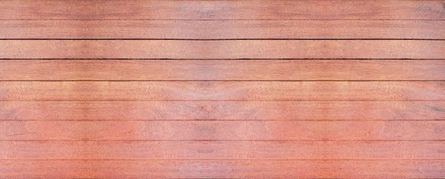 Drewniana ściana z pięknym vintage brązowym drewnianym tłem tekstury