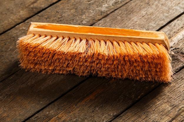 Drewniana szczotka