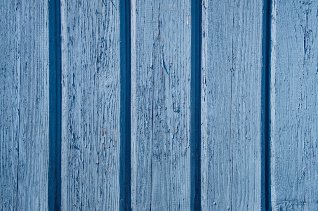 Drewniana tekstura błękitny koloru tło.