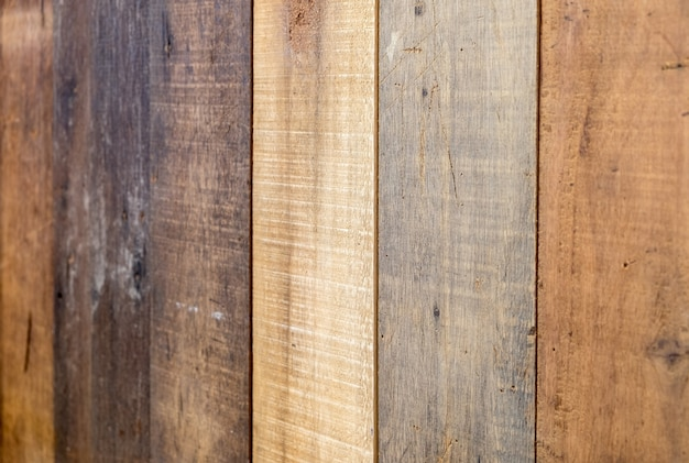 Drewniane deski kolorowe pionowe pochylenie tła