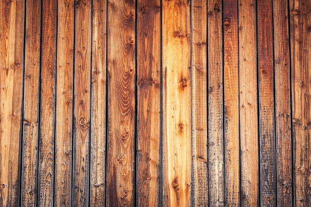 Drewniane deski. stary drewniany, vintage i brązowy tekstury ściany z bliska.