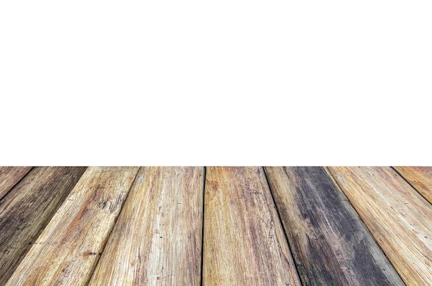 Drewniane deski tekstura szorstkie tło perspektywy