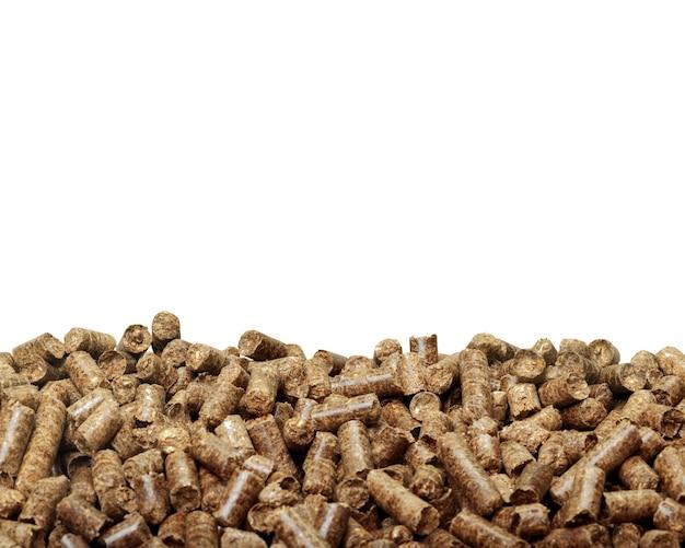 Drewniane granulki