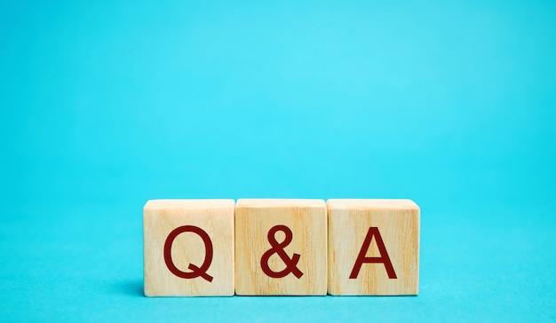 Drewniane klocki pytania i odpowiedzi