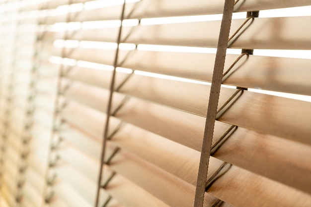 Drewniane rolety okienne