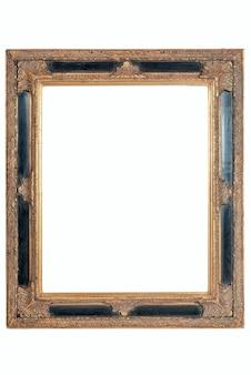 Drewniane stare ramki do zdjęć