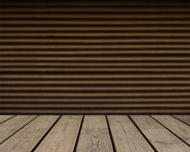 Drewniane tekstury patrz? c na br? zowy paski? ciany