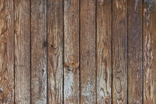Drewniane tekstury tła, stare brązowe drewno.