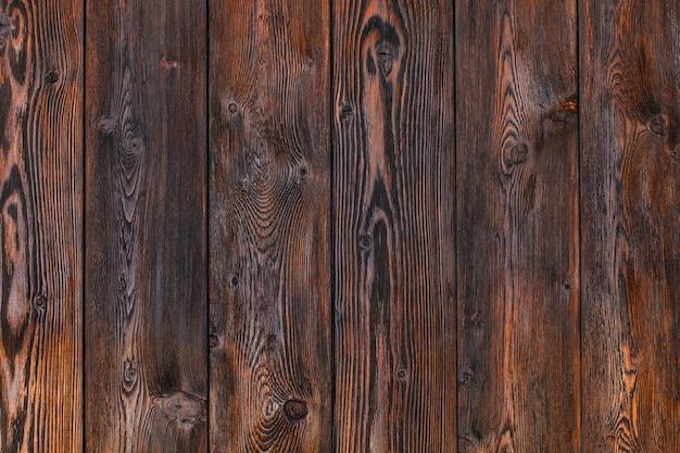 Drewniane tła, brązowe paski drewniane biurko, stary stół lub podłoga