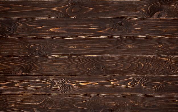 Drewniane Tła, Rustykalne Brązowy Deski Tekstury, Stary Tło ściana Z Drewna Premium Zdjęcia