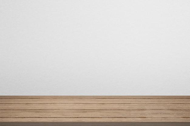 Drewniane tło produktu z pustą przestrzenią