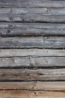 Drewniane tło stare odrapane deski porysowana drewniana ściana