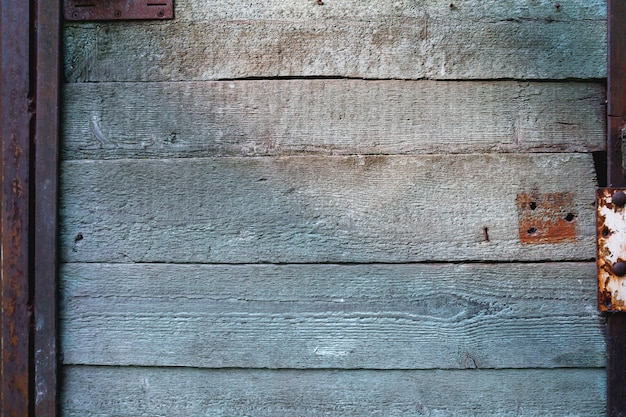 Drewniane tło starych drzwi