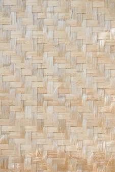 Drewniany bambus maty tekstury abstrakta tło