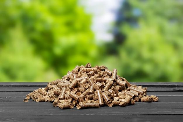 Drewniany pellet