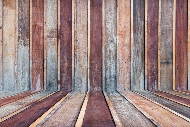 Drewniany ścienny tekstury tło