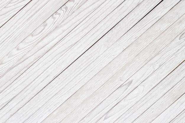 Drewniany stół lub ściany, białe drewno tekstury jako tło