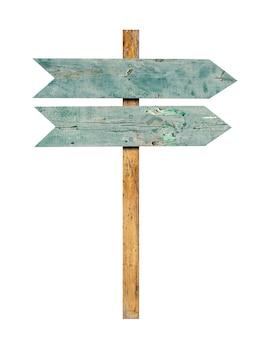 Drewniany znak