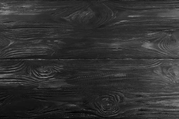Drewno ciemne tło deska drewniana czarna ściana deski streszczenie deska do projektowania
