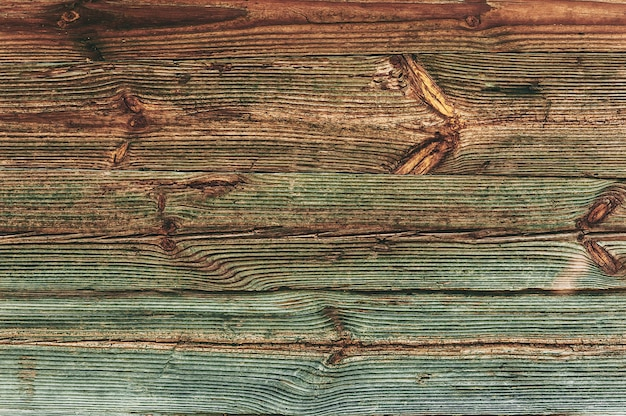 Drewno tekstura tło, widok z góry drewniana deska.