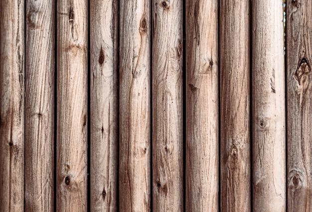 Drewno tło jasnobrązowej tekstury drewna pionowe paski.