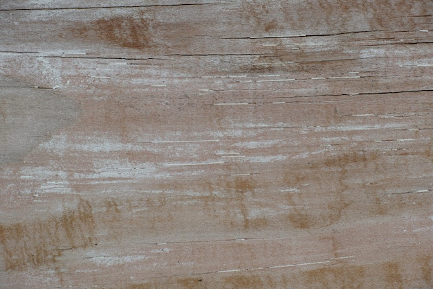 Drewno z białą farbą zużyte