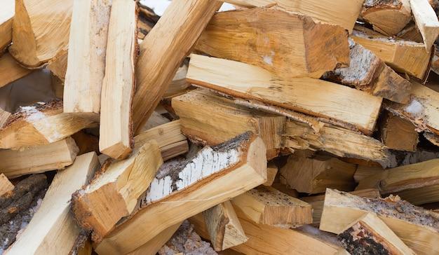 Drewno z brzozy