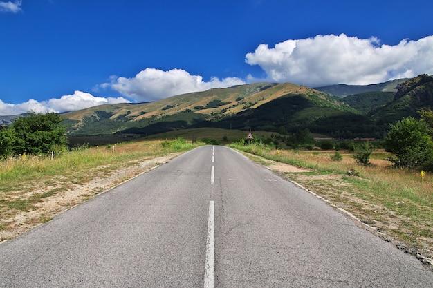 Droga do przełęczy shipka, bułgaria
