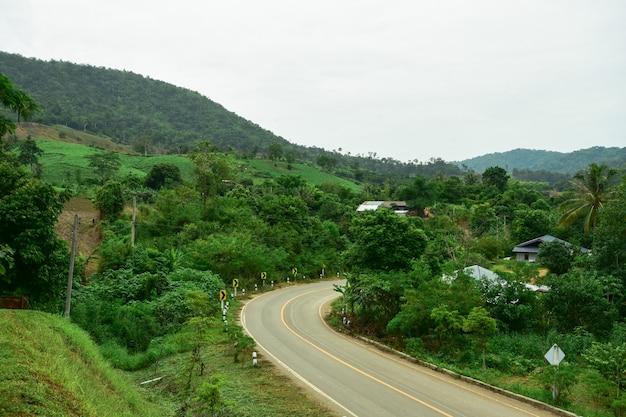 Droga do środkowej doliny.