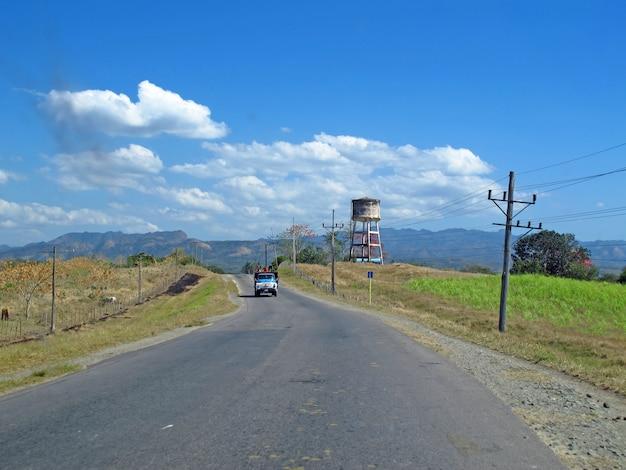 Droga do trynidadu na kubie